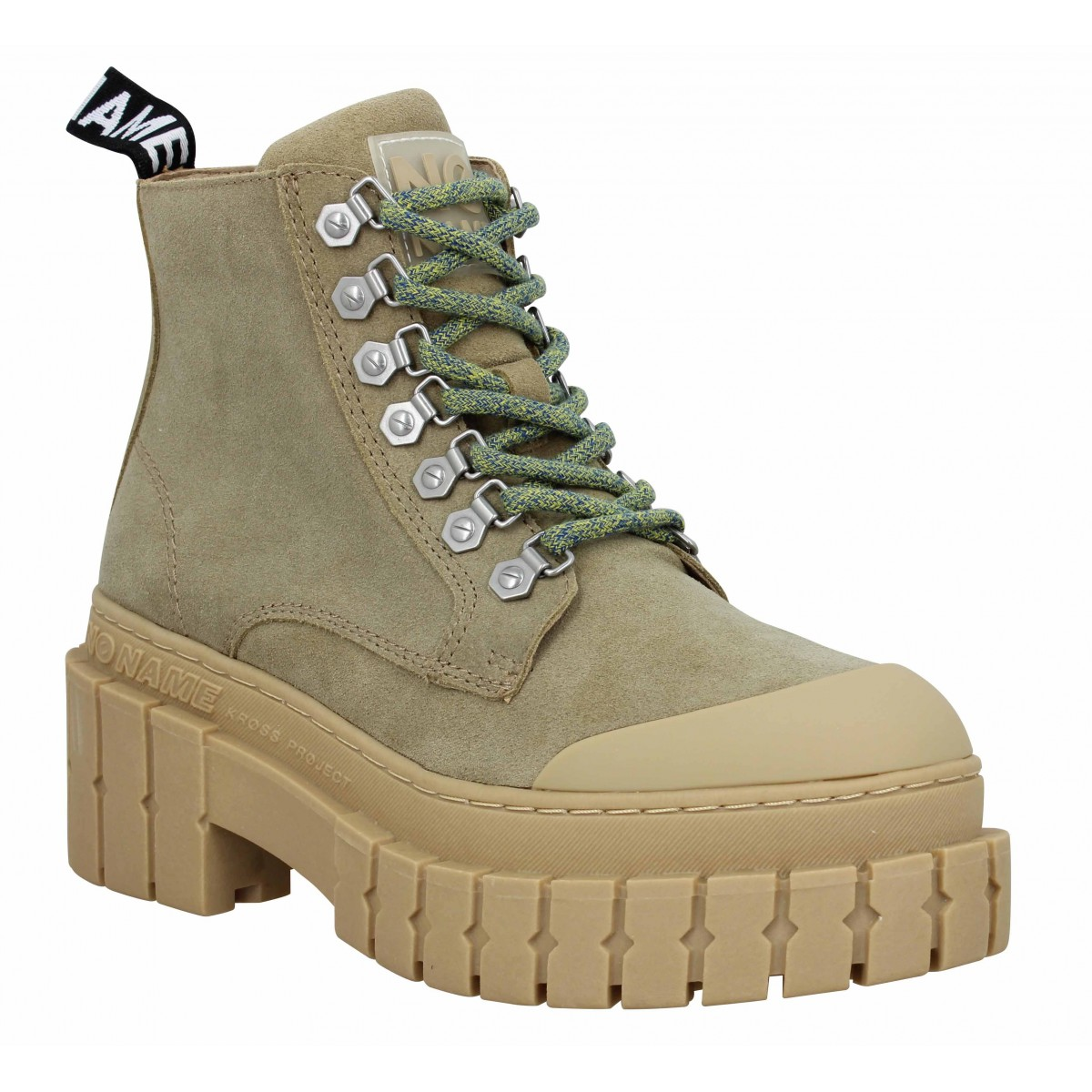 No Name Femme Kross Low Boots Suede...