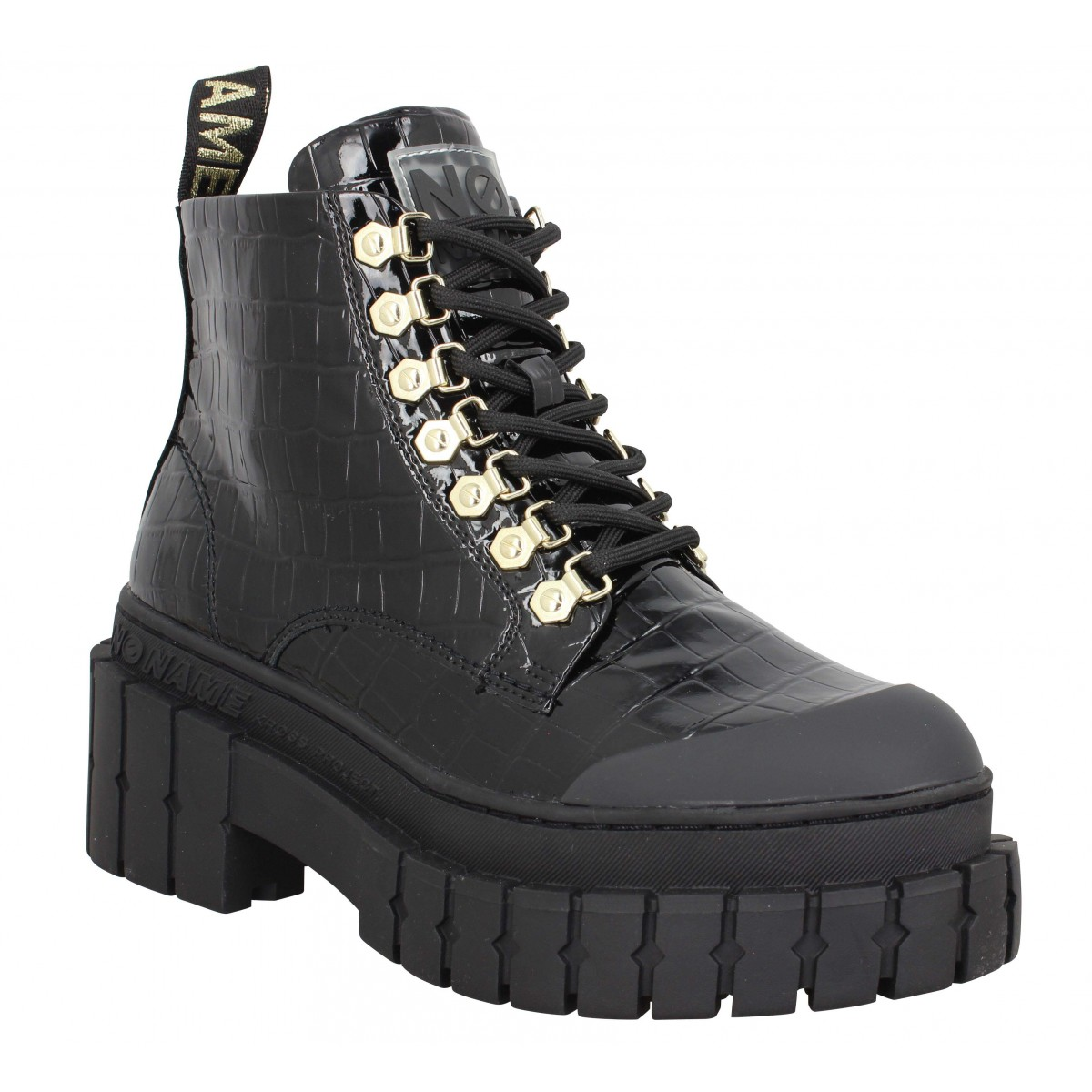 No Name Femme Kross Low Boots Vernis...