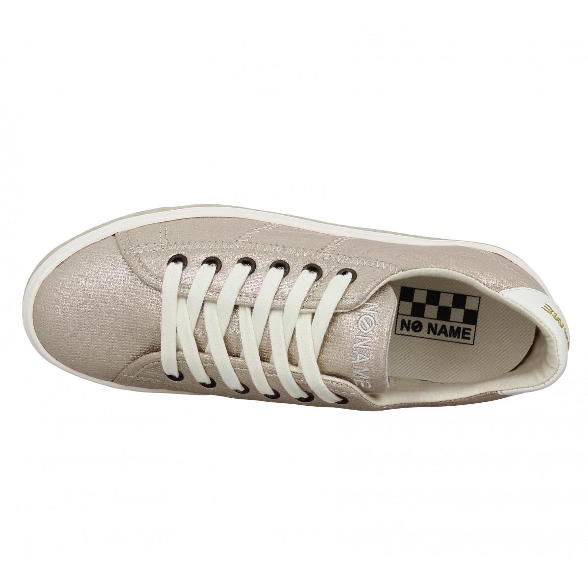 no name malibu sneaker toile femme or femme fanny chaussures. Black Bedroom Furniture Sets. Home Design Ideas