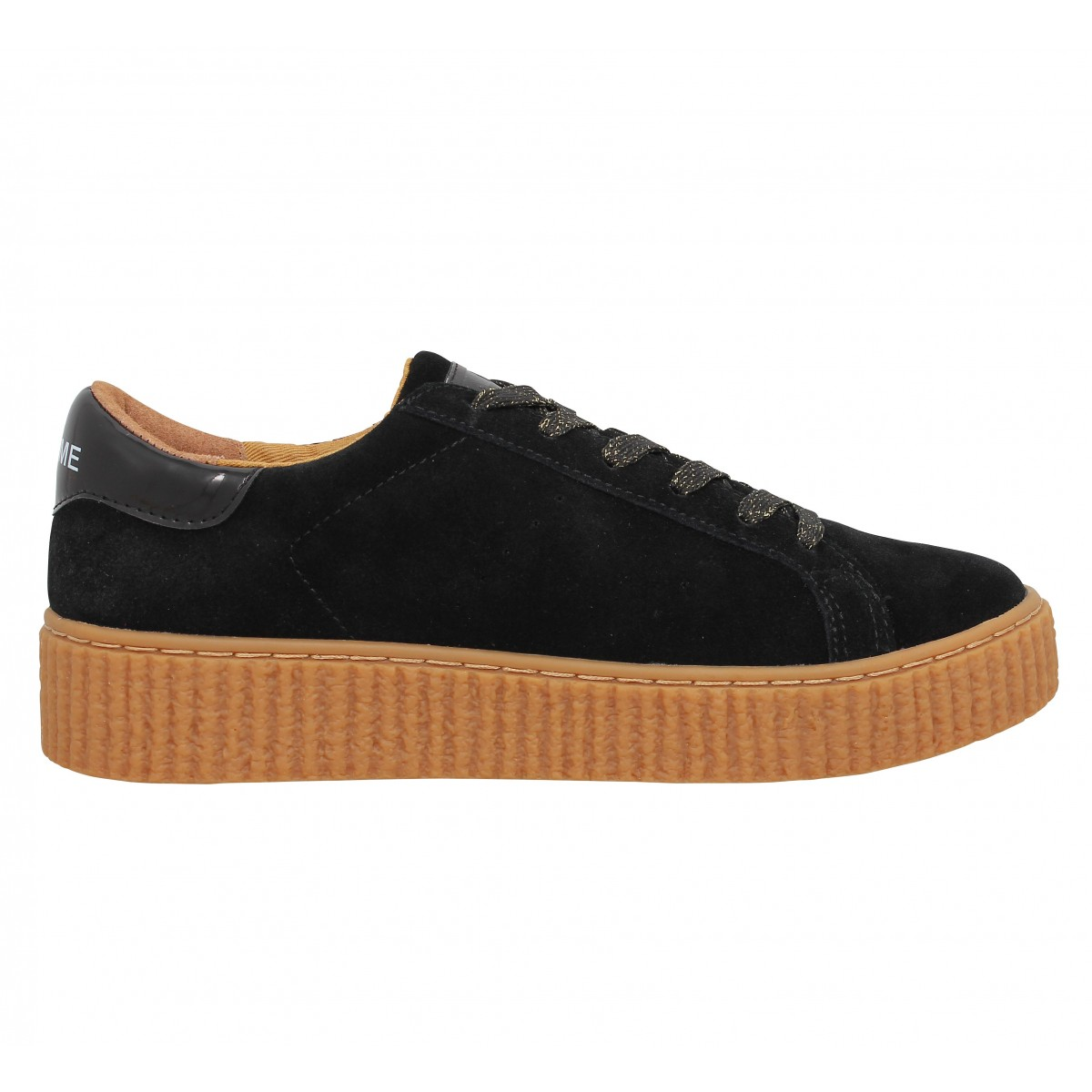 no name picadilly sneaker black femme fanny chaussures. Black Bedroom Furniture Sets. Home Design Ideas