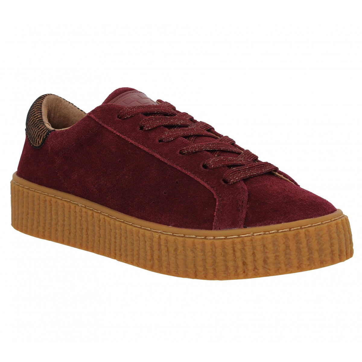 Baskets NO NAME Picadilly Sneaker Bordeaux