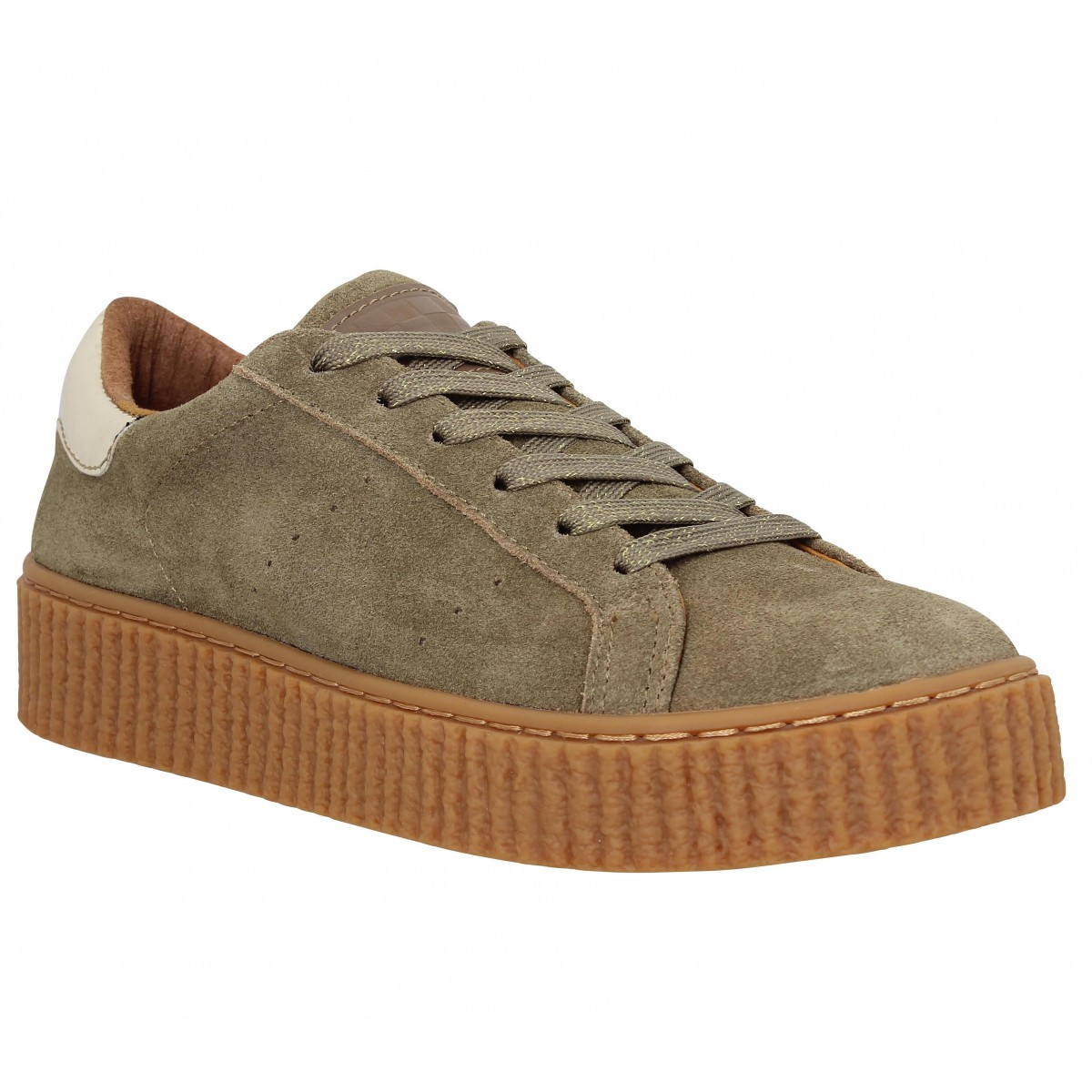 No Name Femme Picadilly Sneaker-39-dune