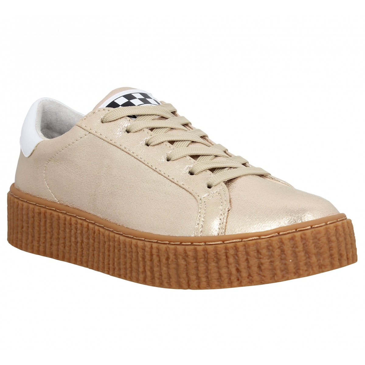 Baskets NO NAME Picadilly Sneaker Gold