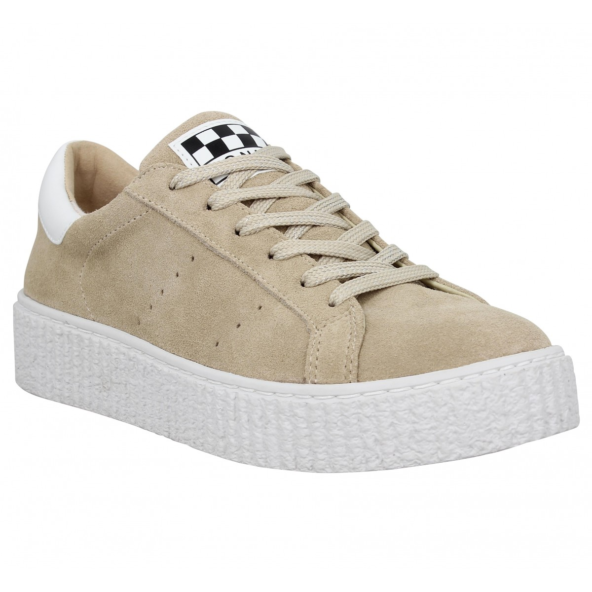 No Name Femme Picadilly Sneaker Suede...