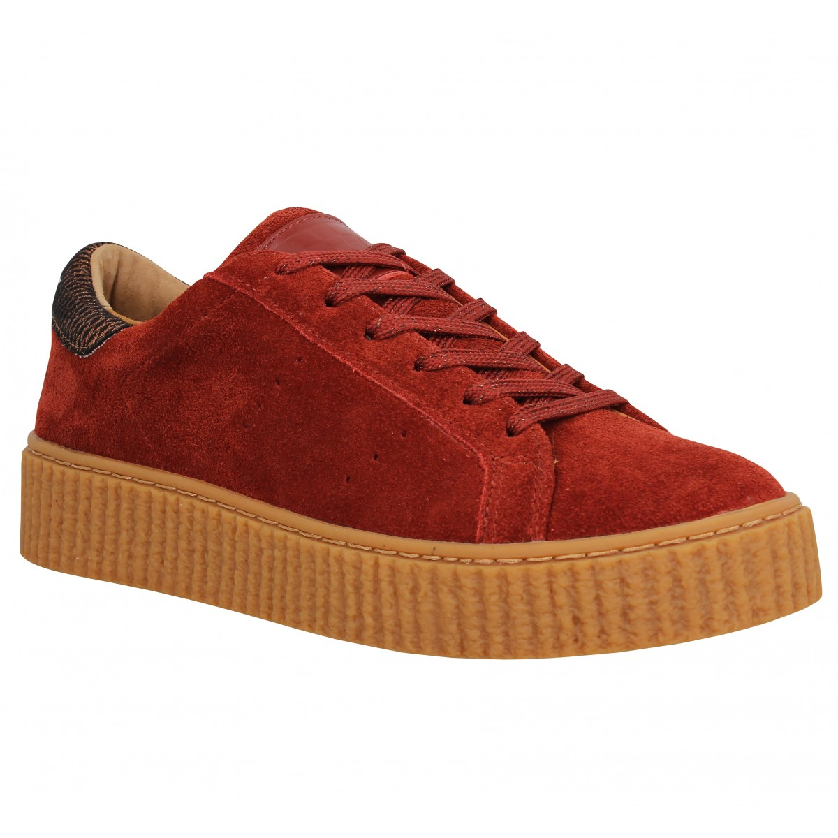 No Name Femme Picadilly Sneaker Velours...