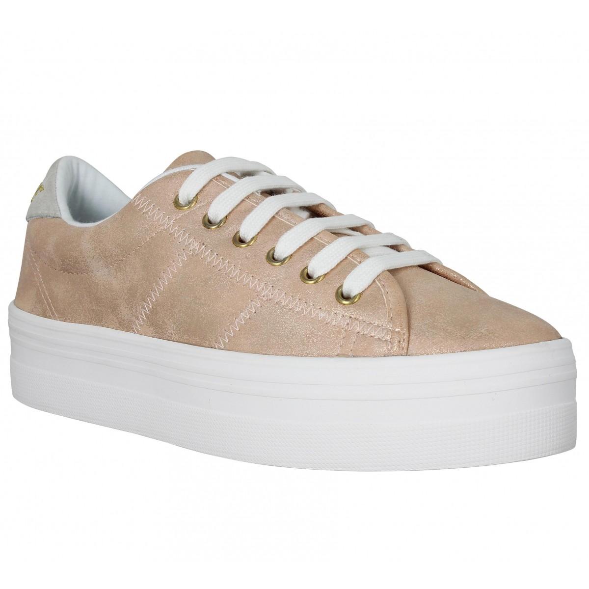 Compensées NO NAME Plato Sneaker gravity Pink