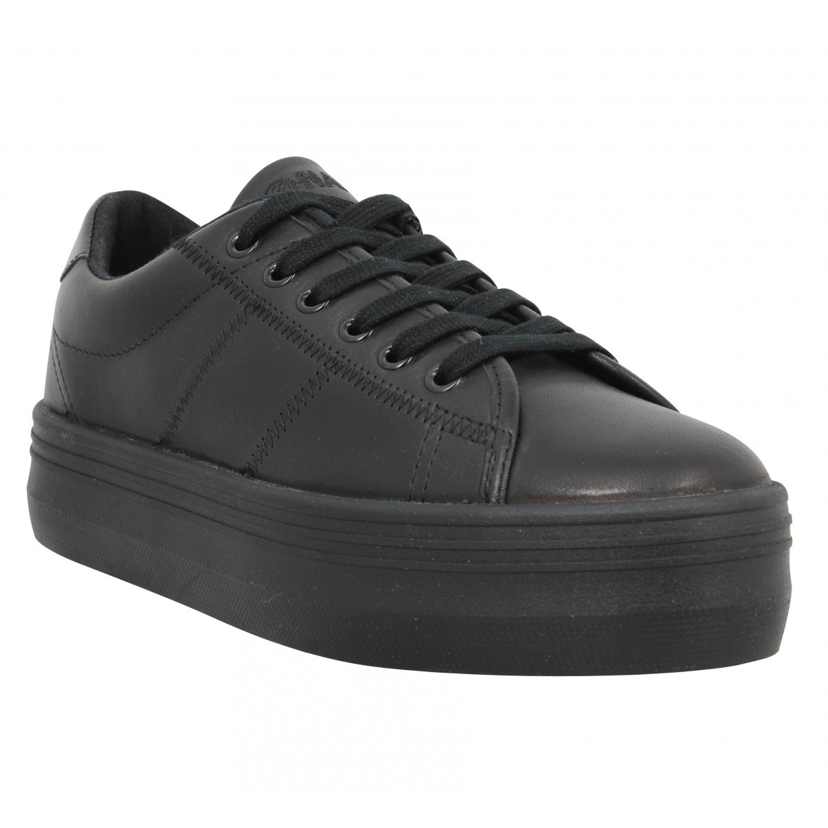 Baskets NO NAME Plato Sneaker nappa Femme Black