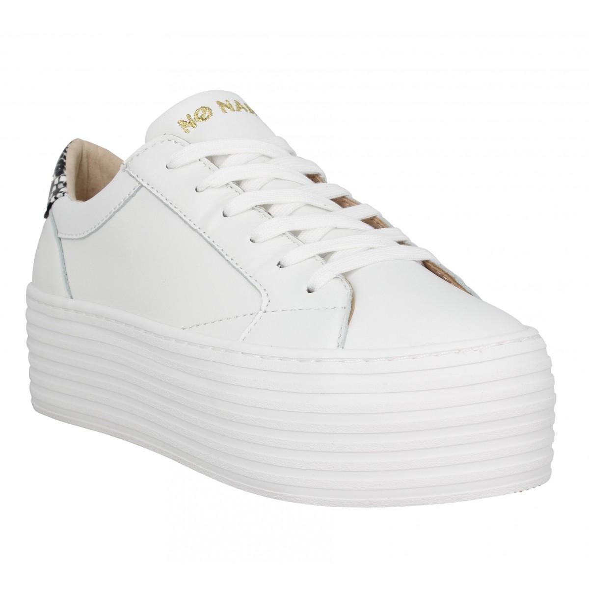 No Name Marque Spice Sneaker Cuir...