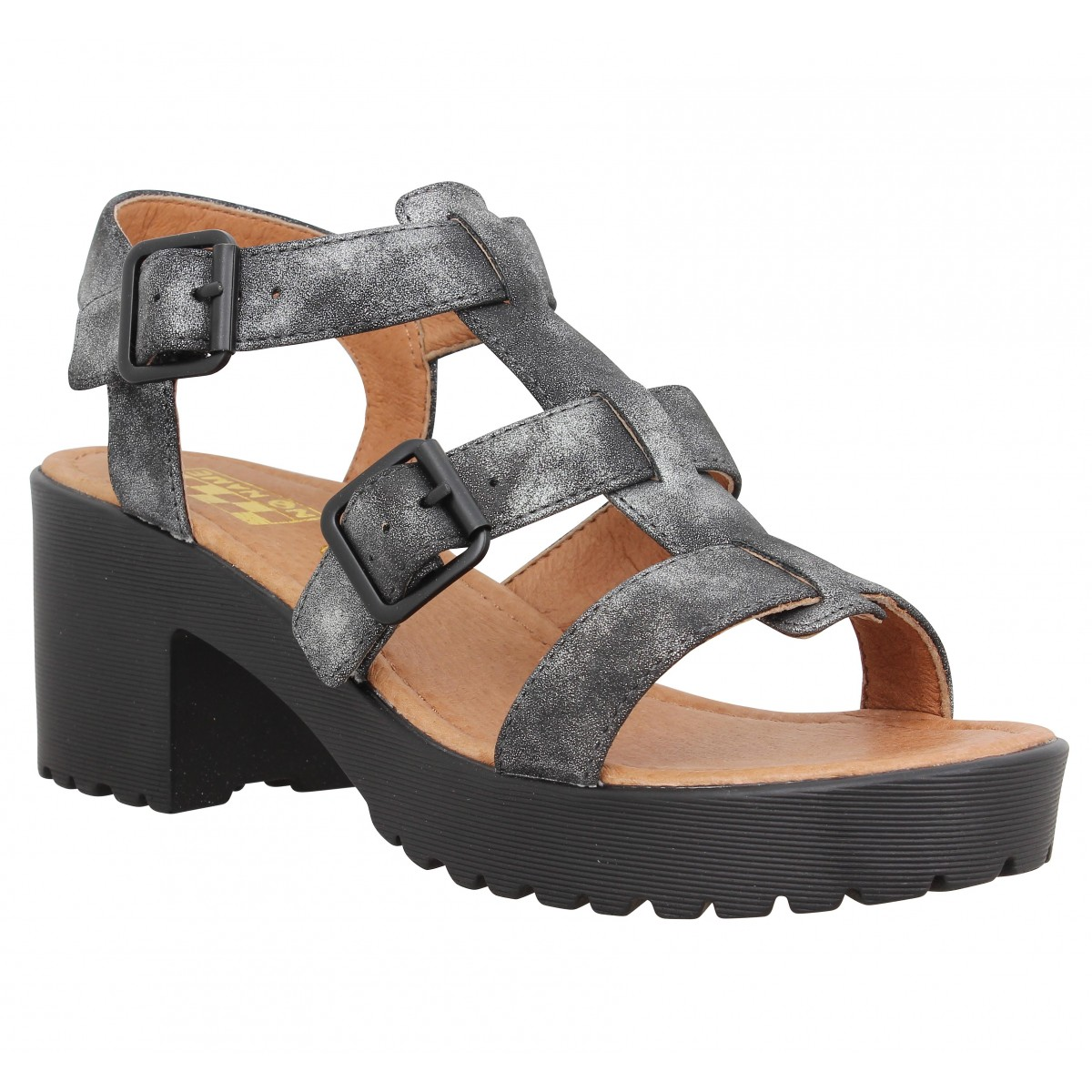 Sandales talons NO NAME Tango Sandal glow Femme Noir
