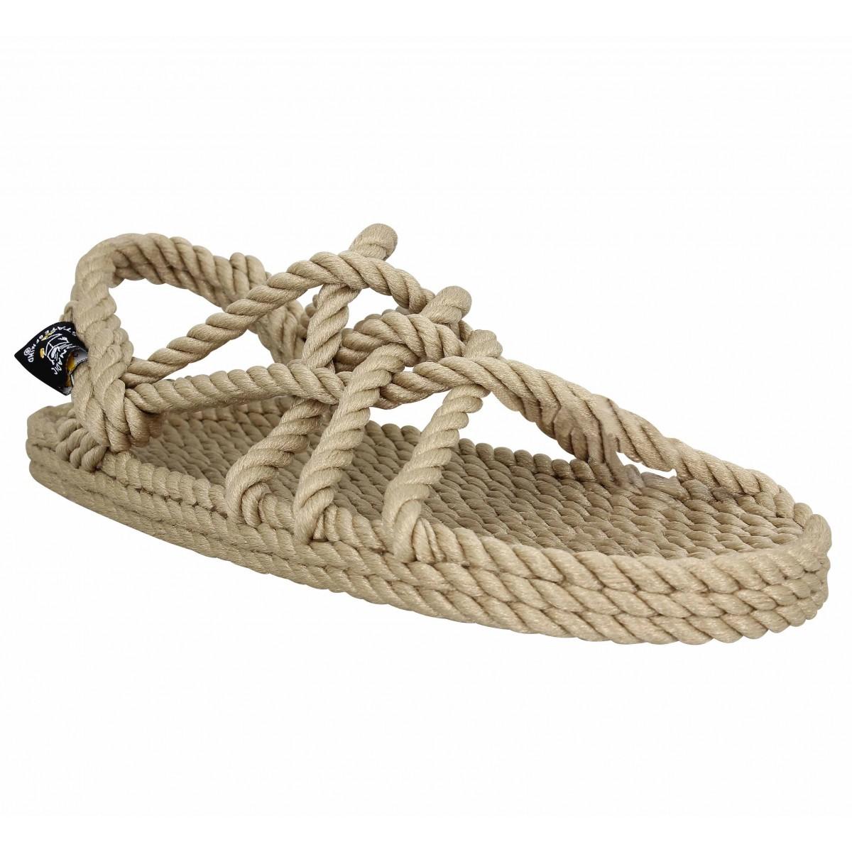 NOMADIC STATE OF MIND JC Sandals corde Femme-34-Beige