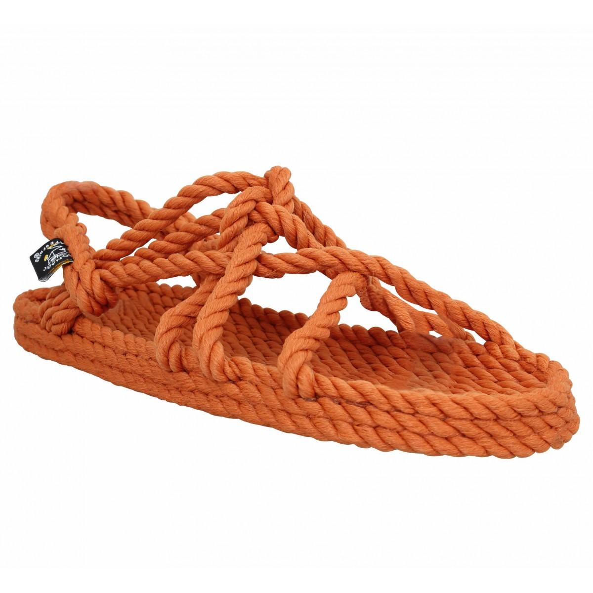 Nu-pieds NOMADIC STATE OF MIND JC Sandals corde Femme Pumpkin