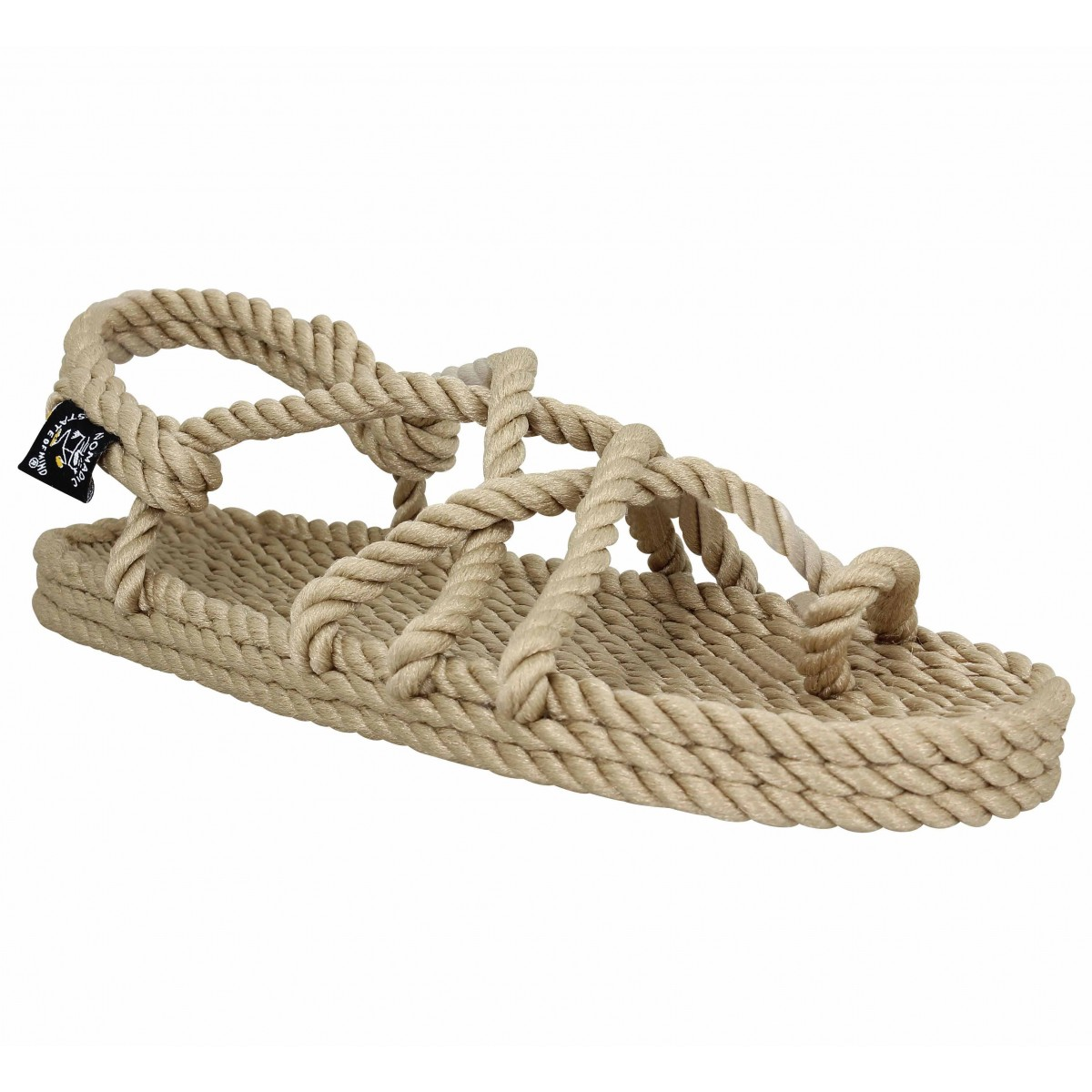 NOMADIC STATE OF MIND Toe Joe corde Femme-35-Beige