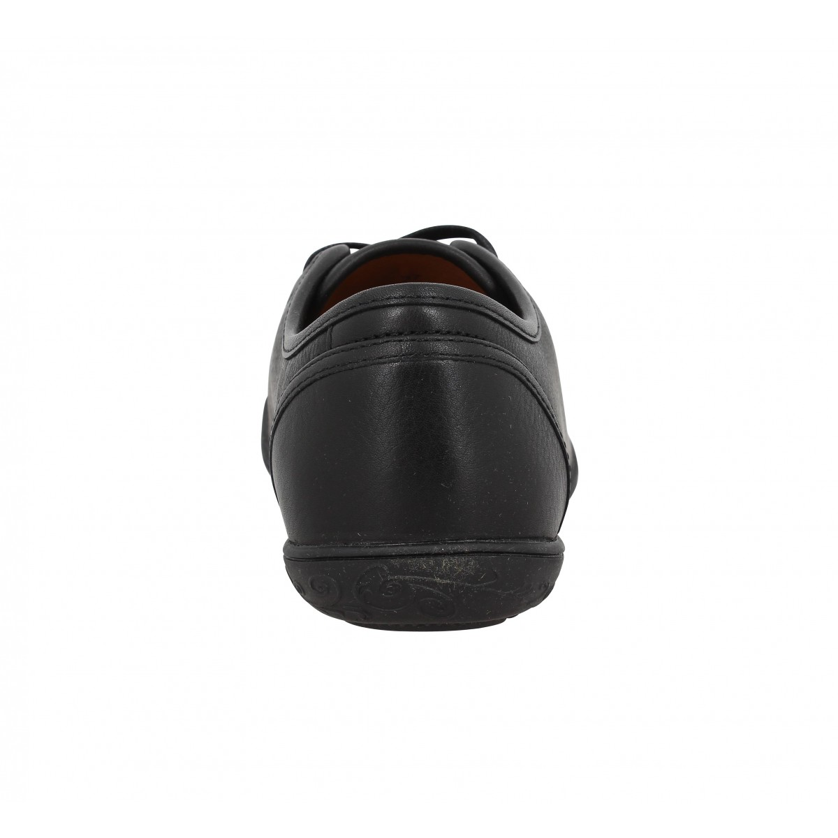 6851a56dc17 Baskets PALLADIUM Game BFO cuir Femme Noir. 1