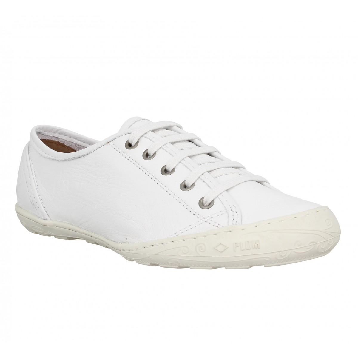 Baskets PALLADIUM Game VAC cuir Femme White
