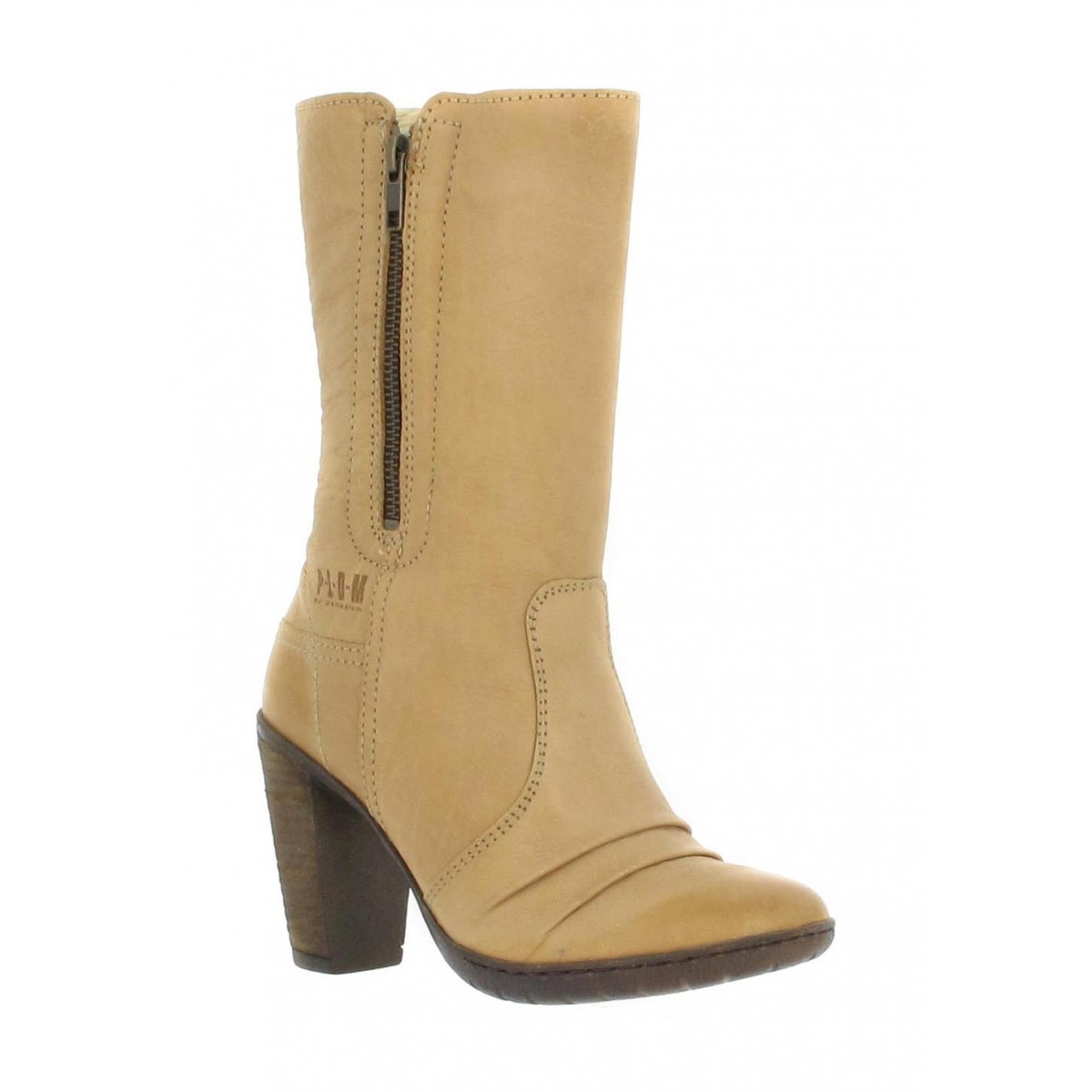 Bottines PALLADIUM Holly Warm box Femme Beige