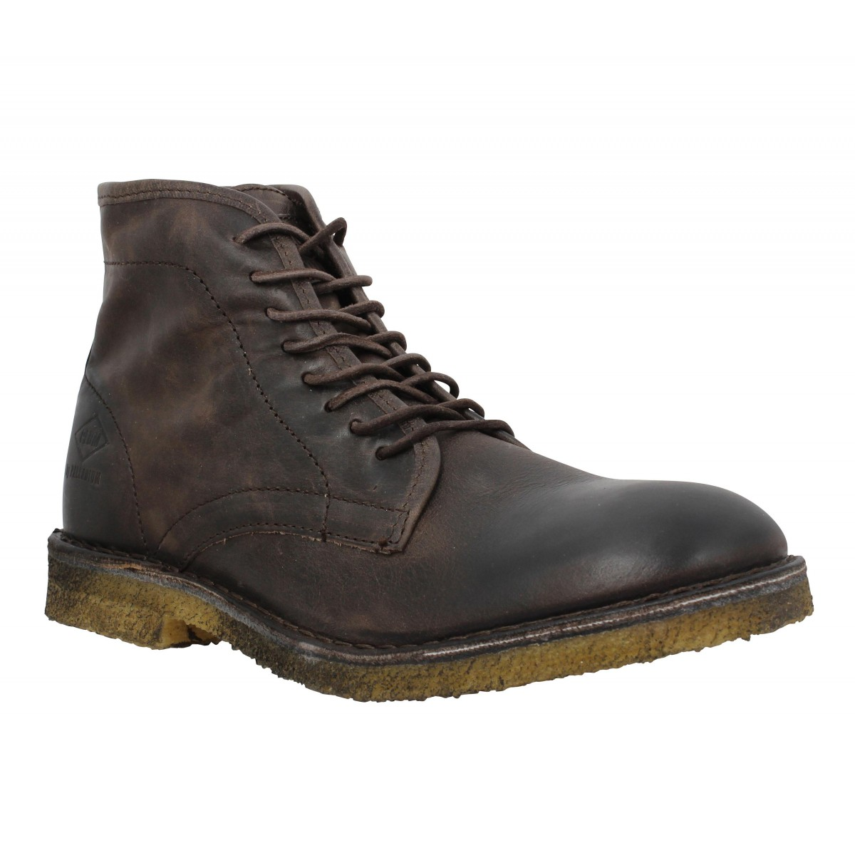 Bottines PALLADIUM Palamos cuir Homme Marron