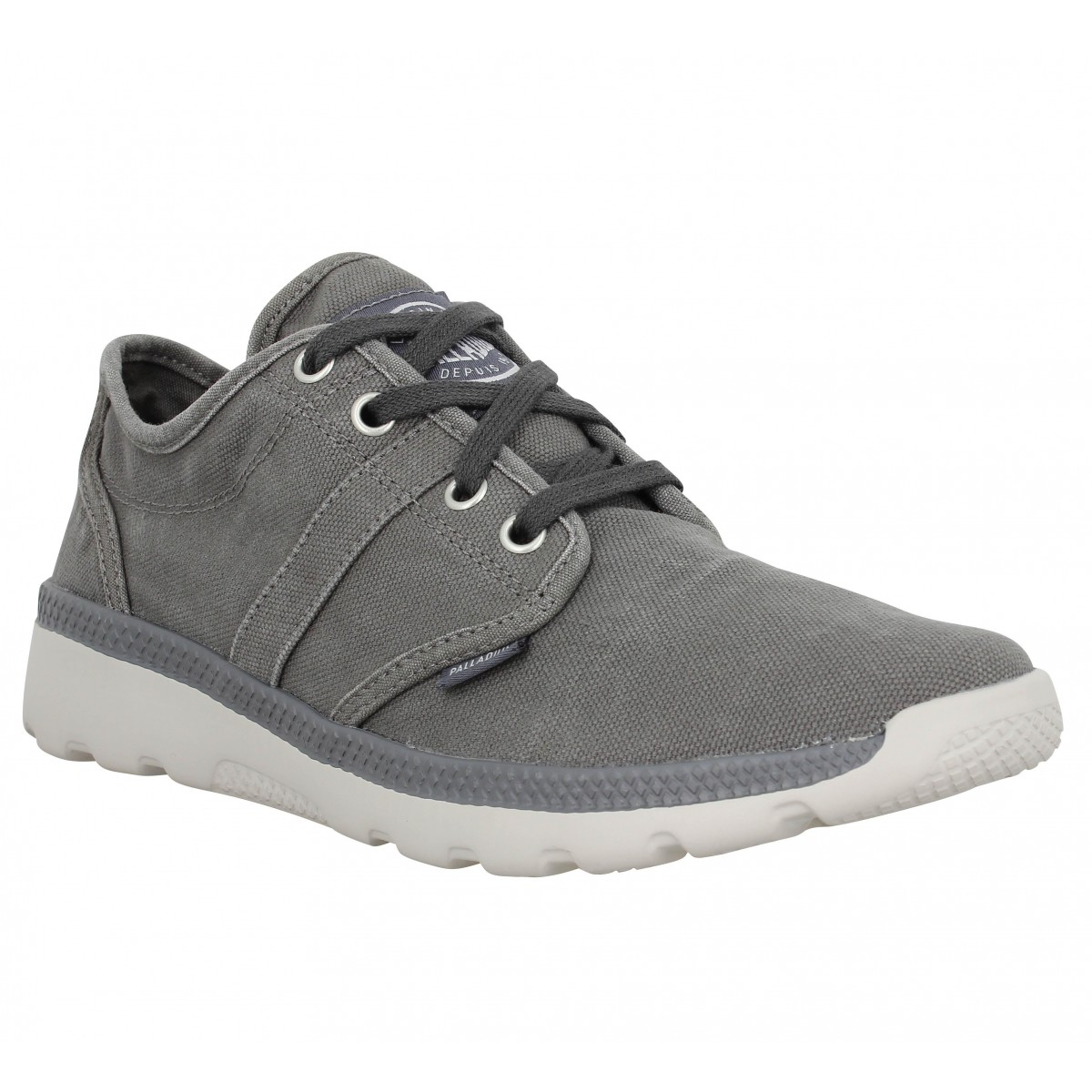 Baskets PALLADIUM Palaville Gris