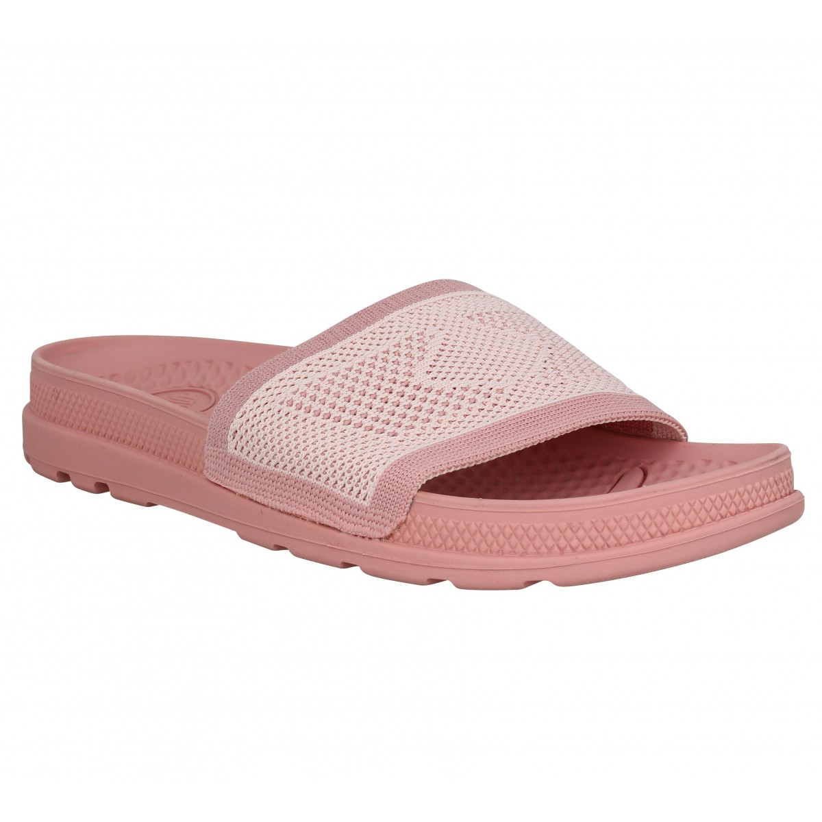 Chaussures Palladium Toile Fanny Pampa Solea Rose Femme qpqUCFrH