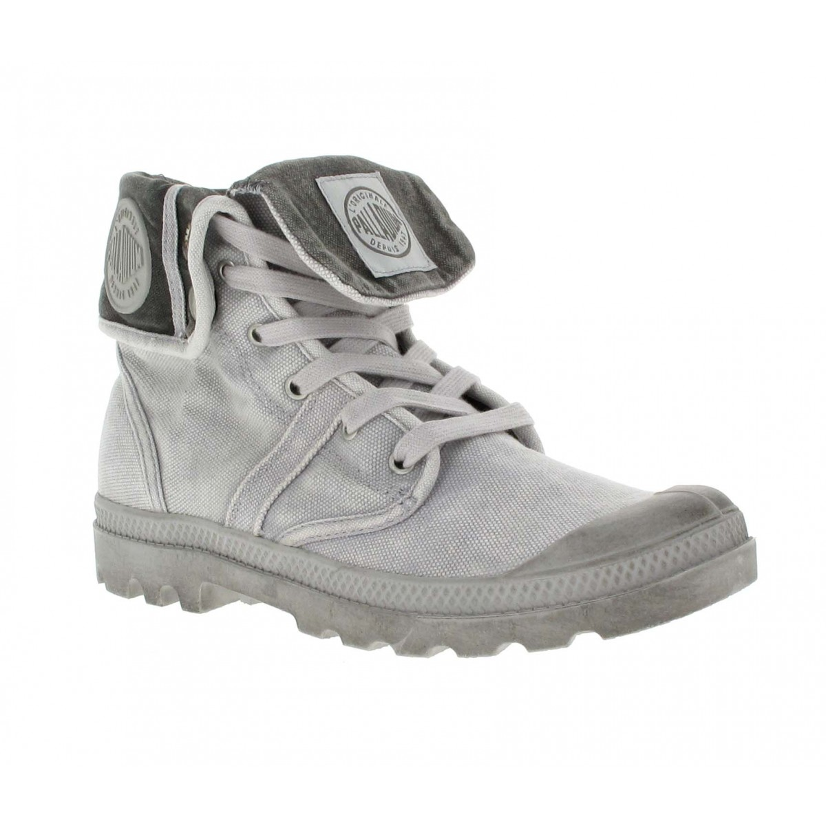 best shoes performance sportswear order online PALLADIUM US Baggy toile Homme Gris