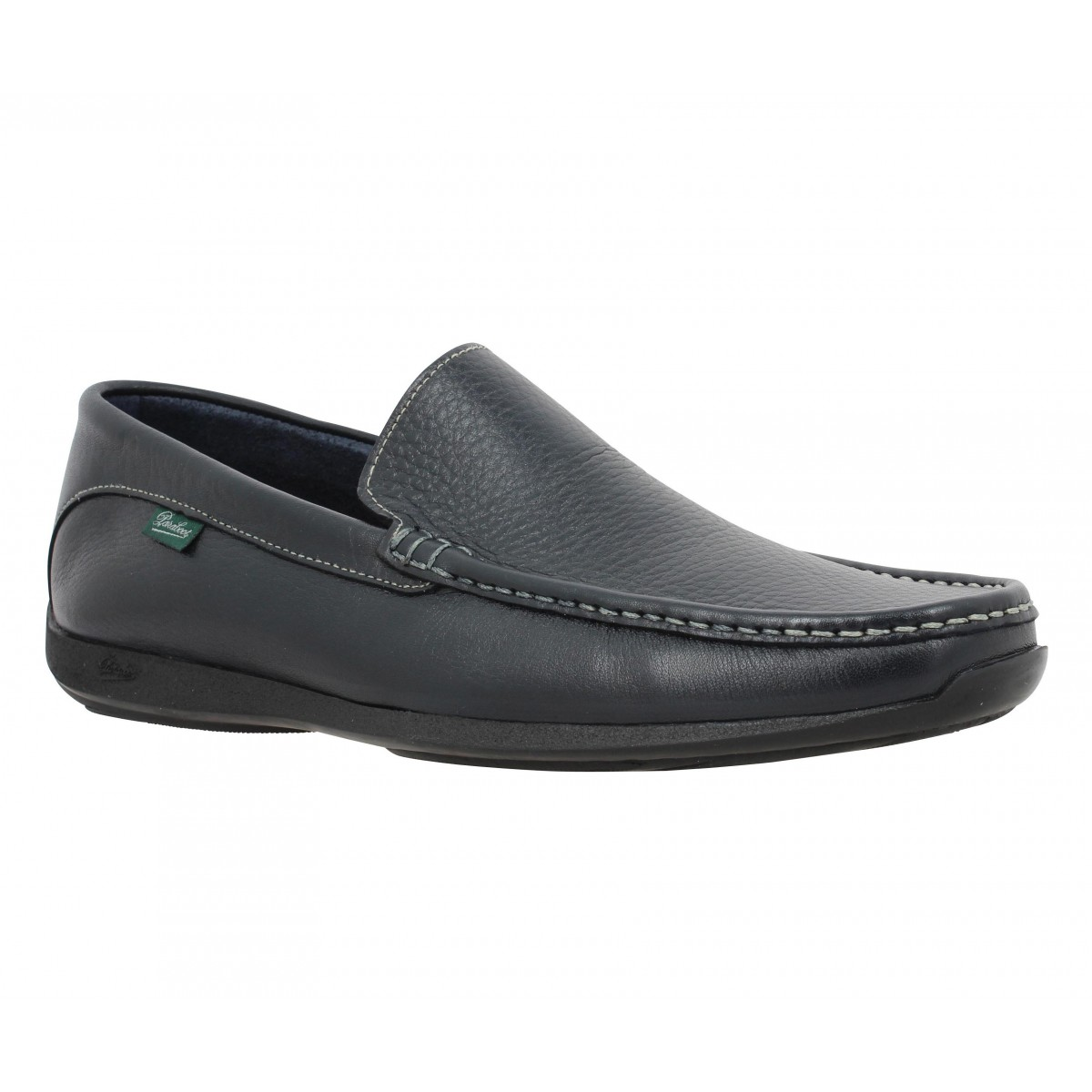 Mocassins PARABOOT Anvers cuir Homme Marine