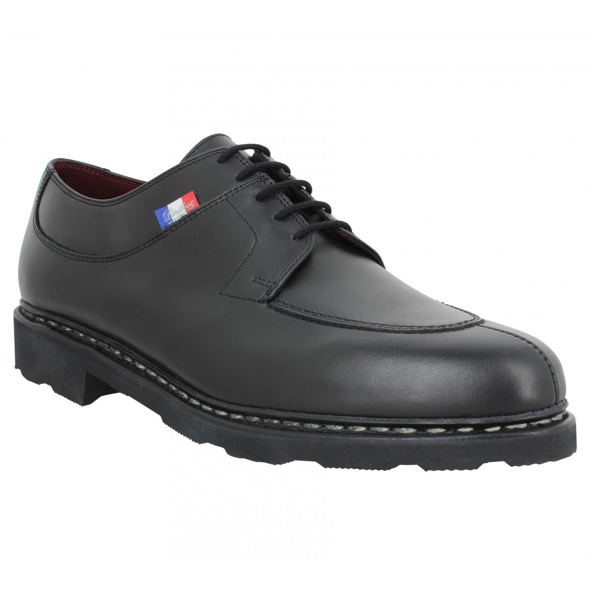 Chaussures à lacets PARABOOT Avignon BBR cuir Homme Noir