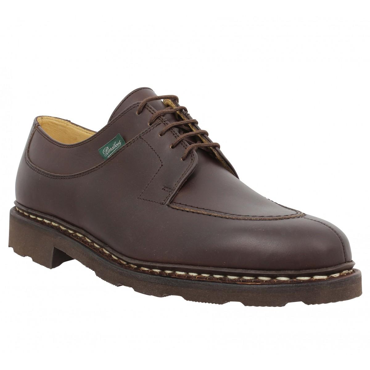 Chaussures à lacets PARABOOT Avignon cuir Homme Cafe