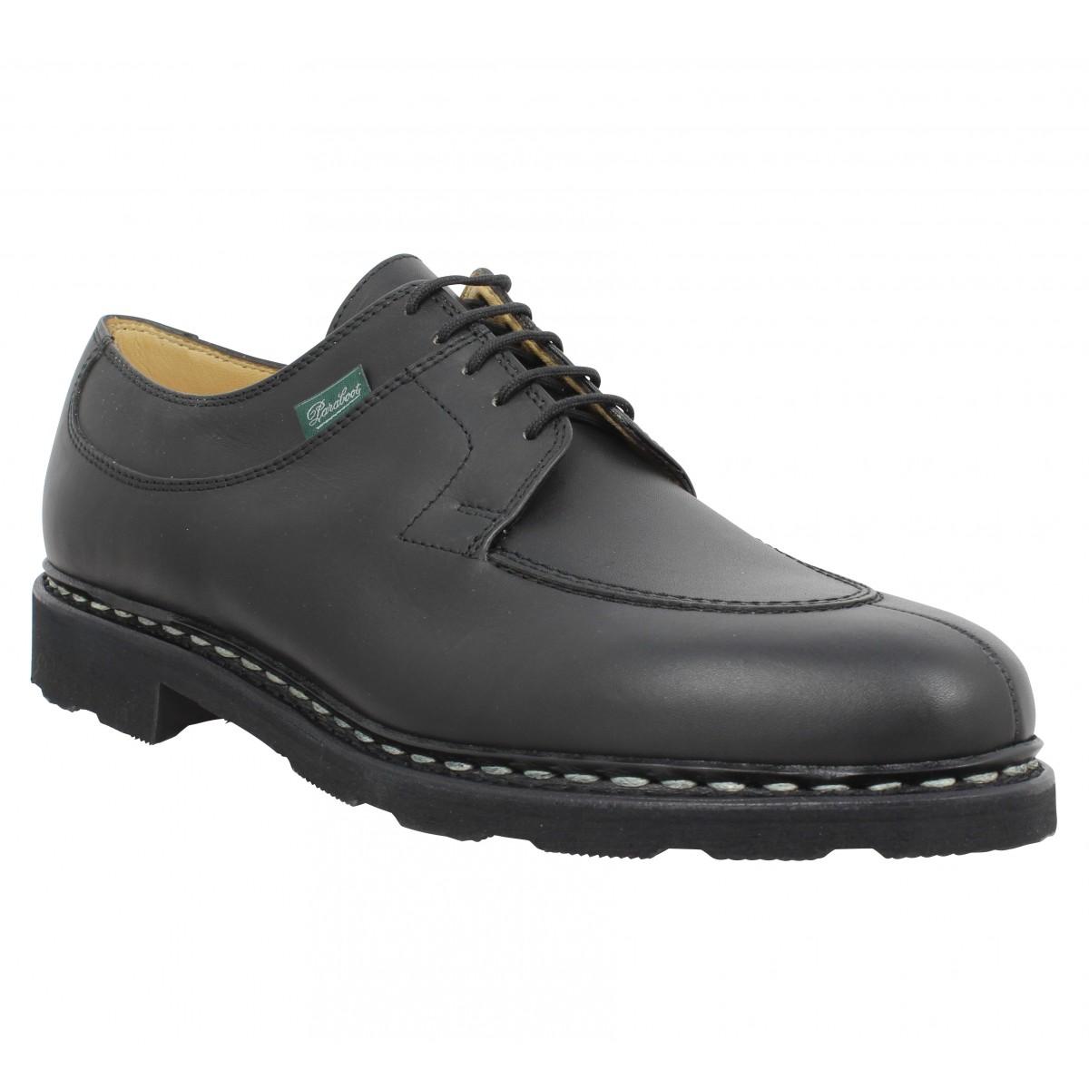 Chaussures à lacets PARABOOT Avignon cuir Homme Noir