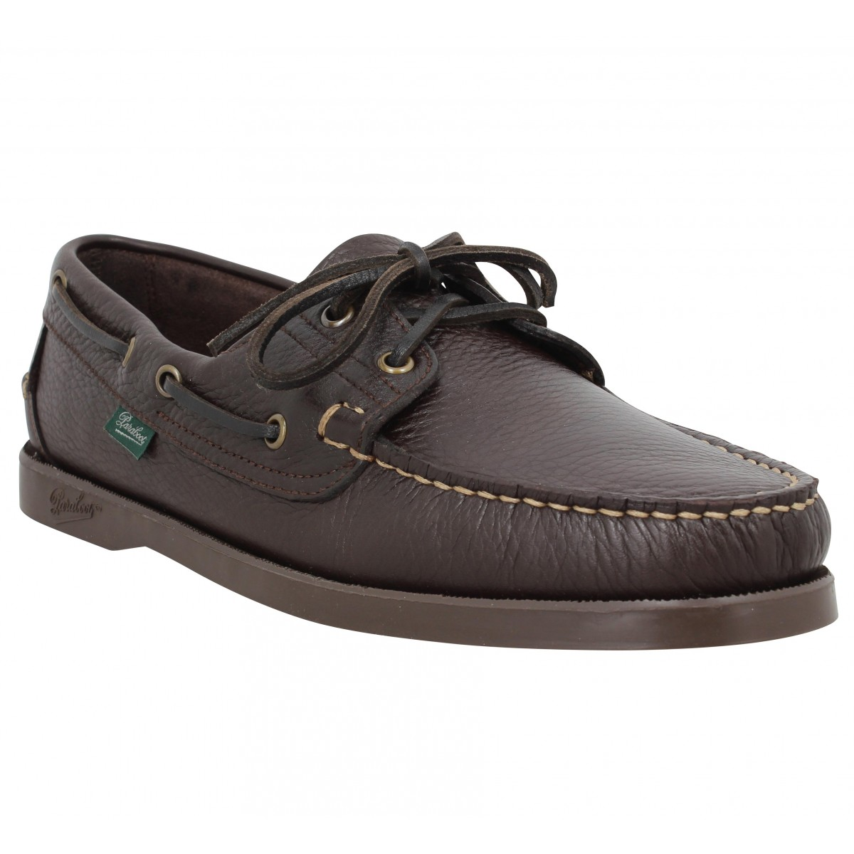 f4b102ec2034af Paraboot barth cuir foulonne homme marron homme | Fanny chaussures