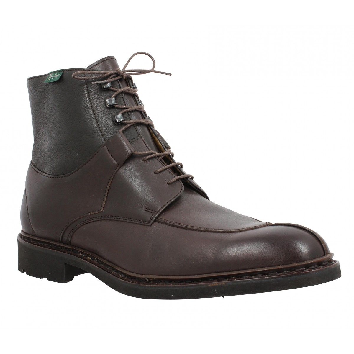 Bottines PARABOOT Beaumont cuir Homme Cafe