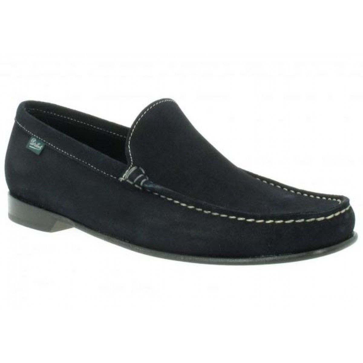 Mocassins PARABOOT Cannes velours Homme Marine