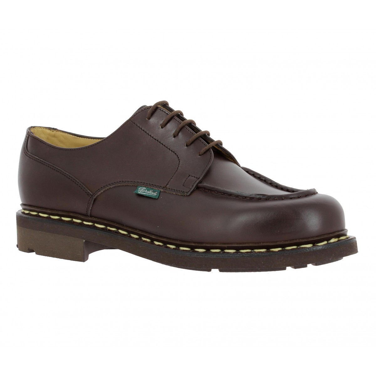 Chaussures à lacets PARABOOT Chambord cuir Homme Cafe