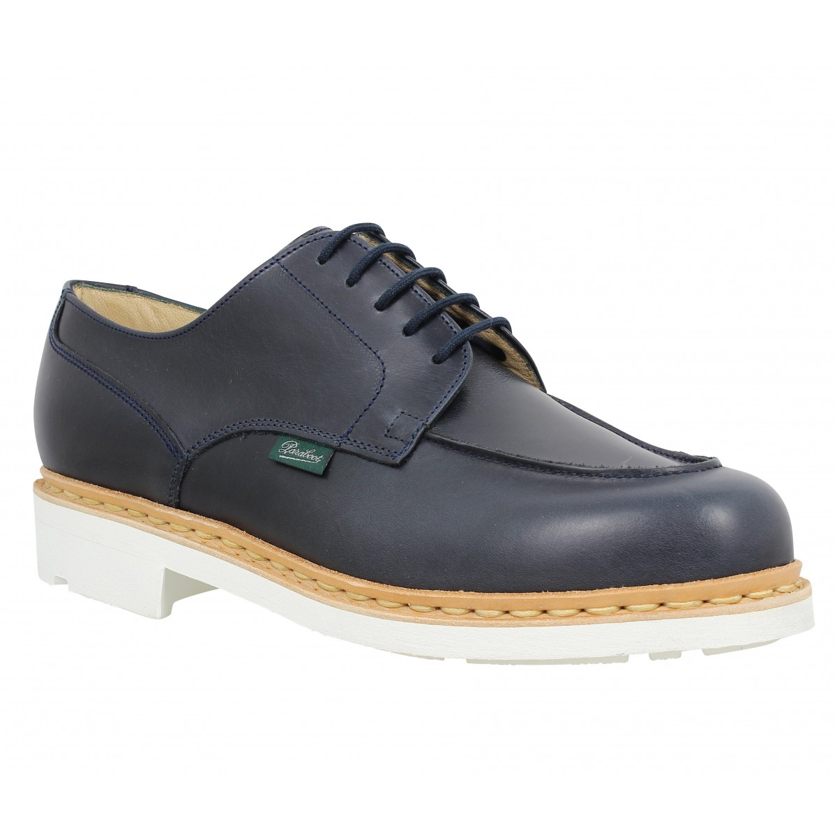 Chaussures à lacets PARABOOT Chambord cuir Homme Marine