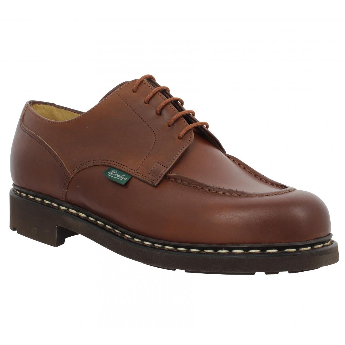 Chaussures à lacets PARABOOT Chambord cuir Homme Marron
