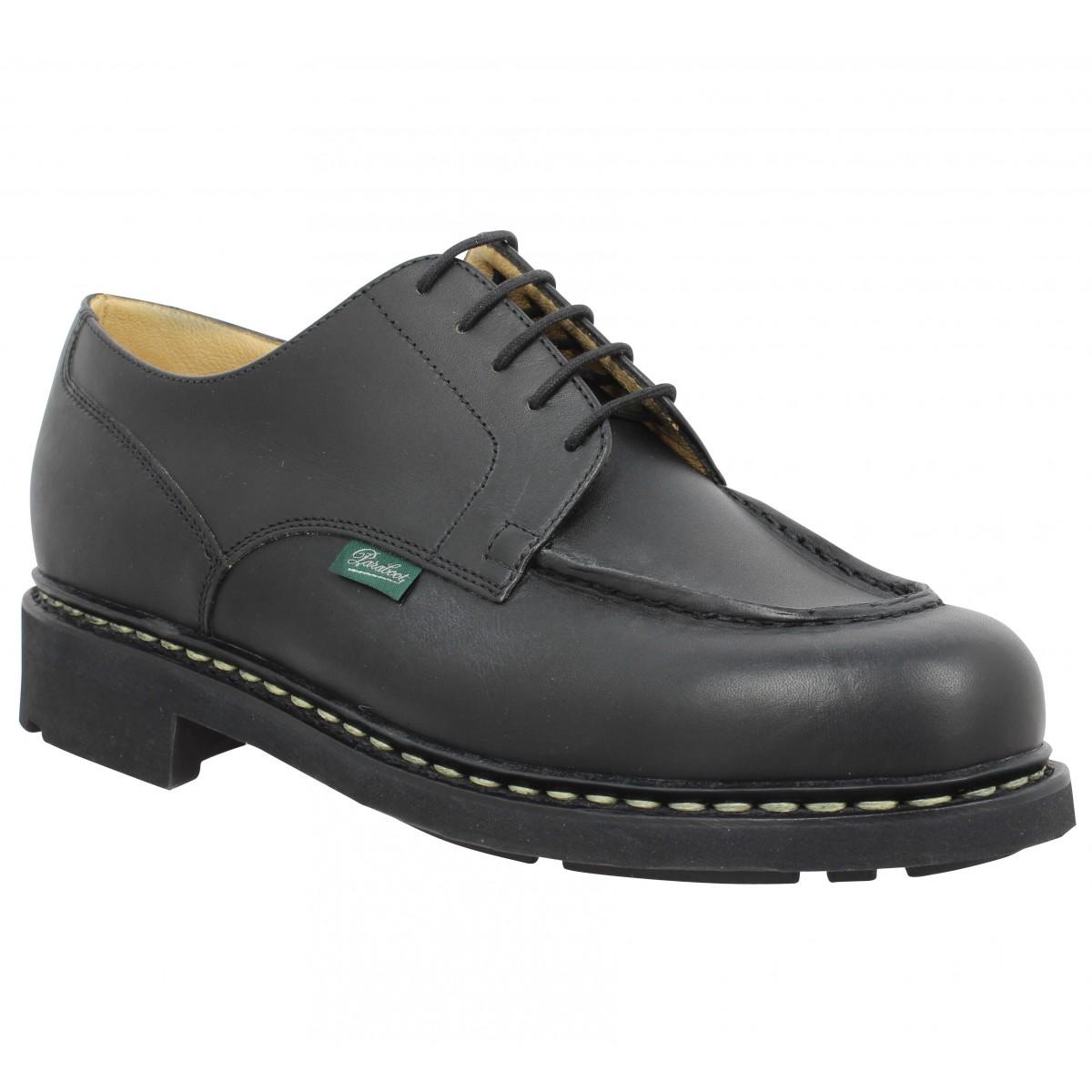Chaussures à lacets PARABOOT Chambord cuir Homme Noir