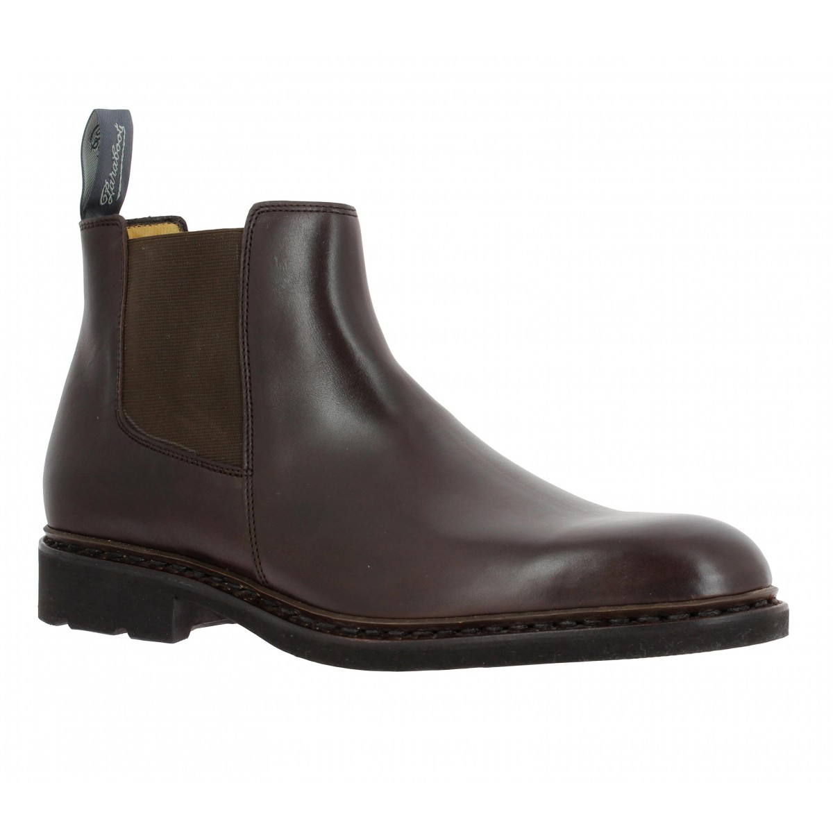 Bottines PARABOOT Chamfort cuir Homme Cafe