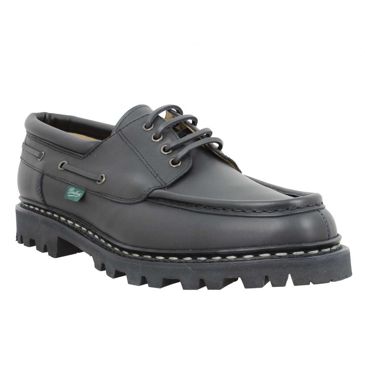 Chaussures à lacets PARABOOT Chimey cuir Homme Noir