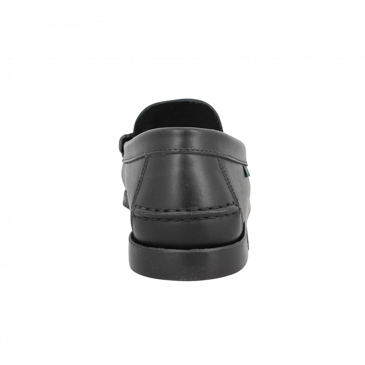 paraboot coraux cuir homme noir fanny chaussures. Black Bedroom Furniture Sets. Home Design Ideas