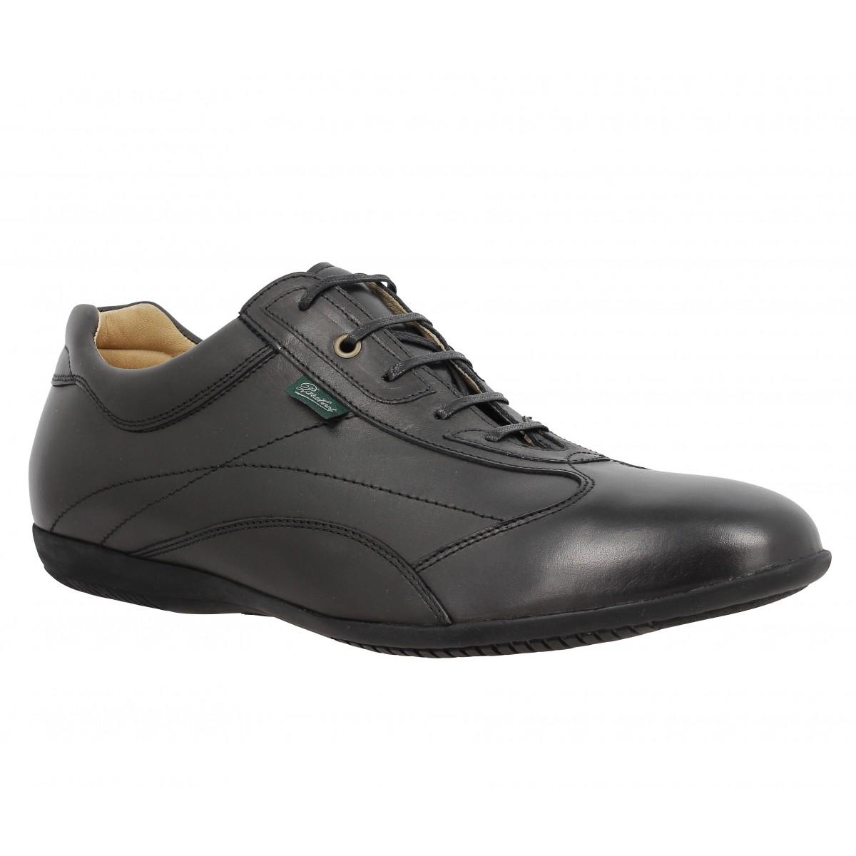 Chaussures à lacets PARABOOT Estoril cuir Homme Noir