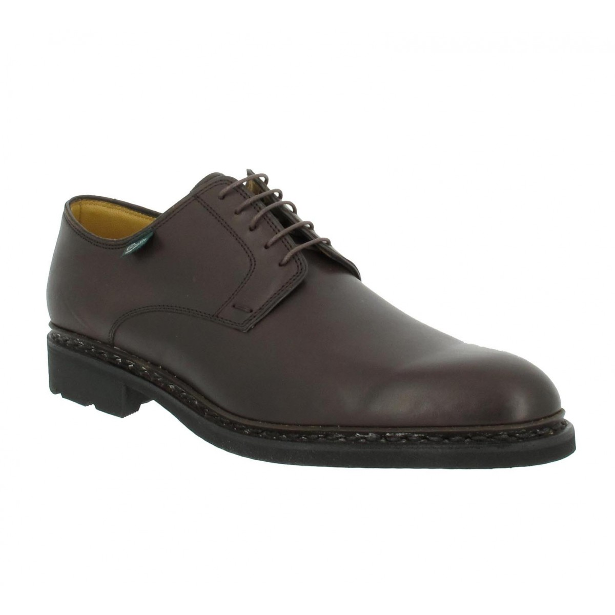 Chaussures à lacets PARABOOT Frenaye cuir Homme Cafe