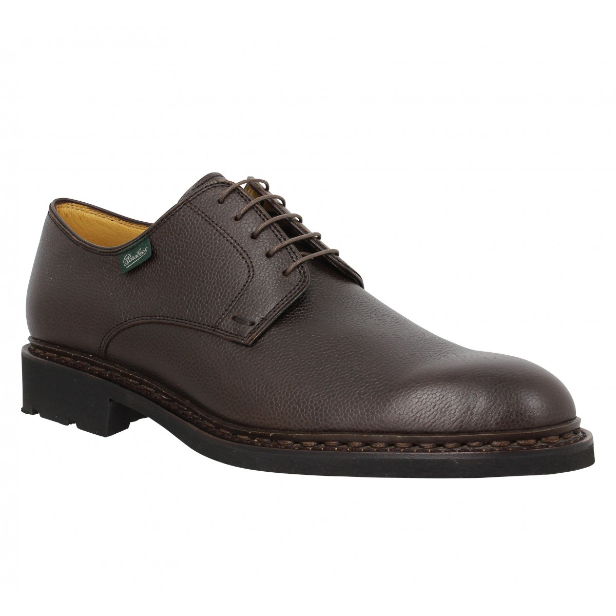 Chaussures à lacets PARABOOT Frenaye cuir Moka