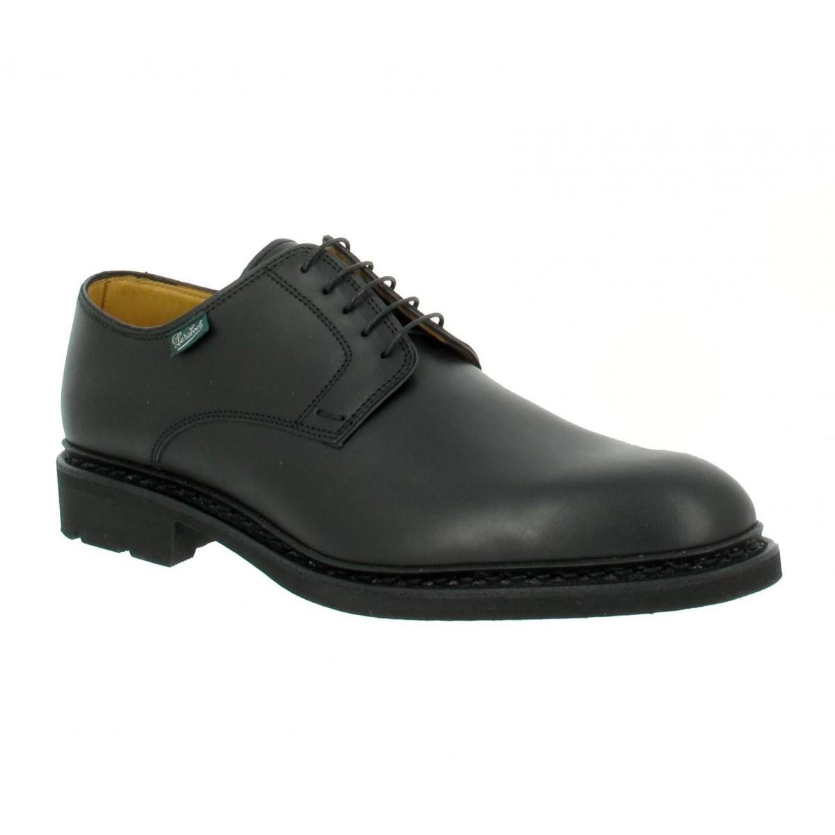 Chaussures à lacets PARABOOT Frenaye cuir Homme Noir