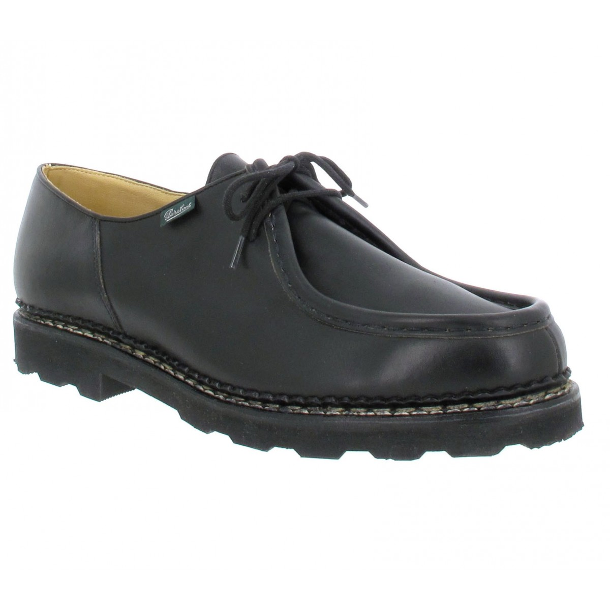 Chaussures à lacets PARABOOT Michael cuir Homme Noir