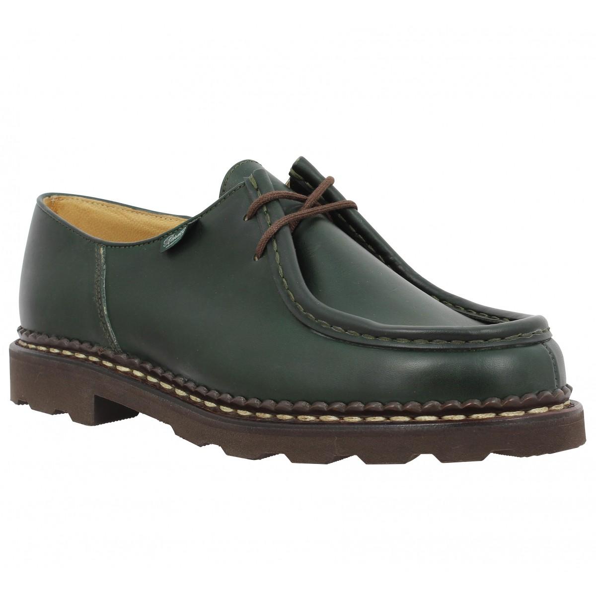 Chaussures à lacets PARABOOT Michael cuir Homme Vert