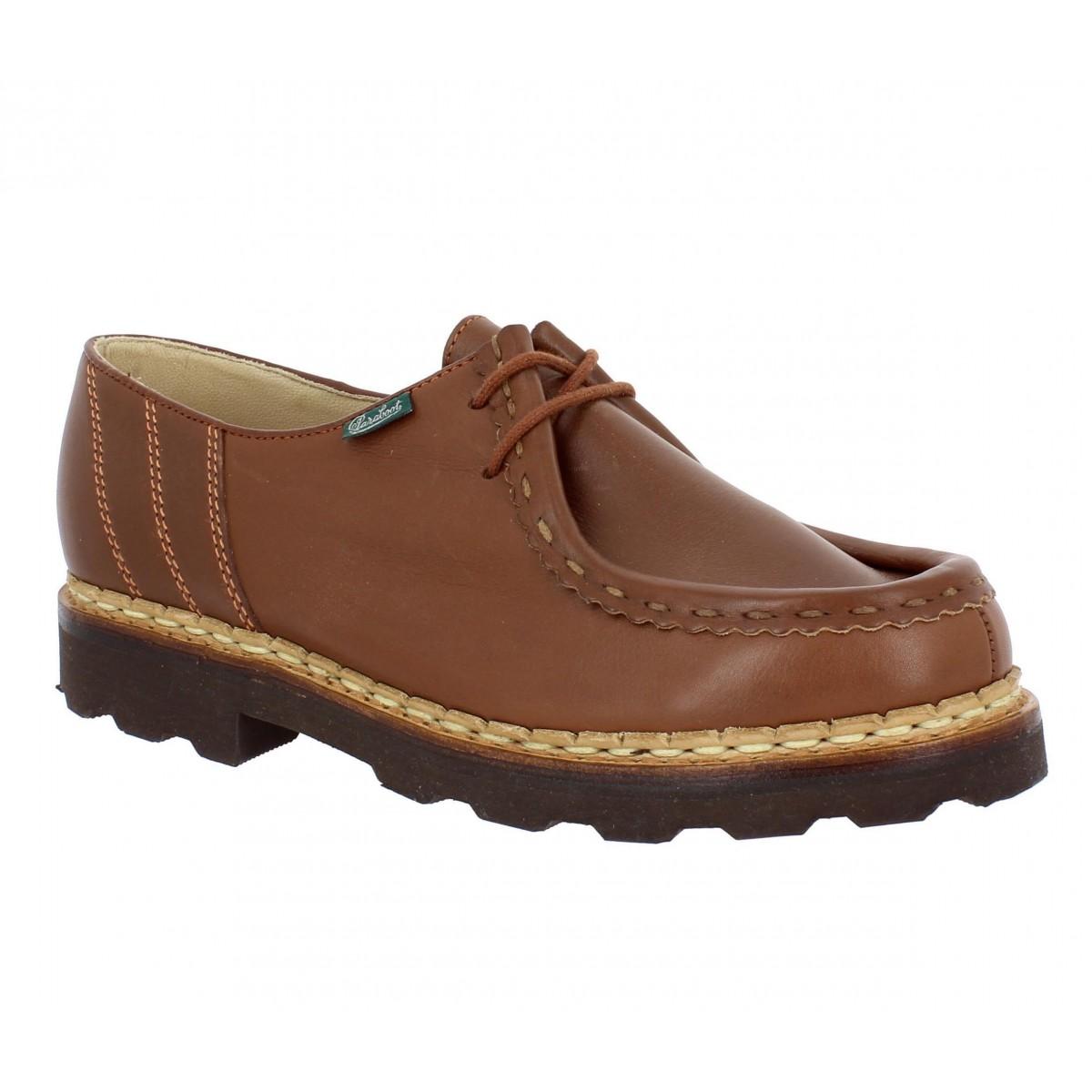 Chaussures à lacets PARABOOT Morzine cuir Homme Marron