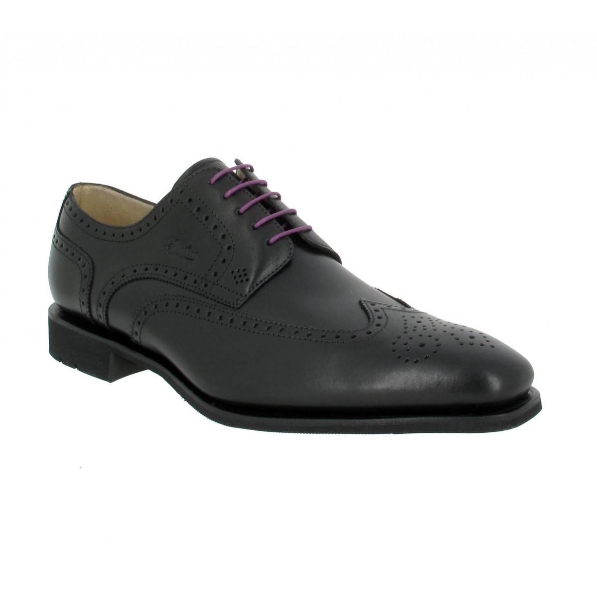 Chaussures à lacets PARABOOT Street cuir Homme Noir