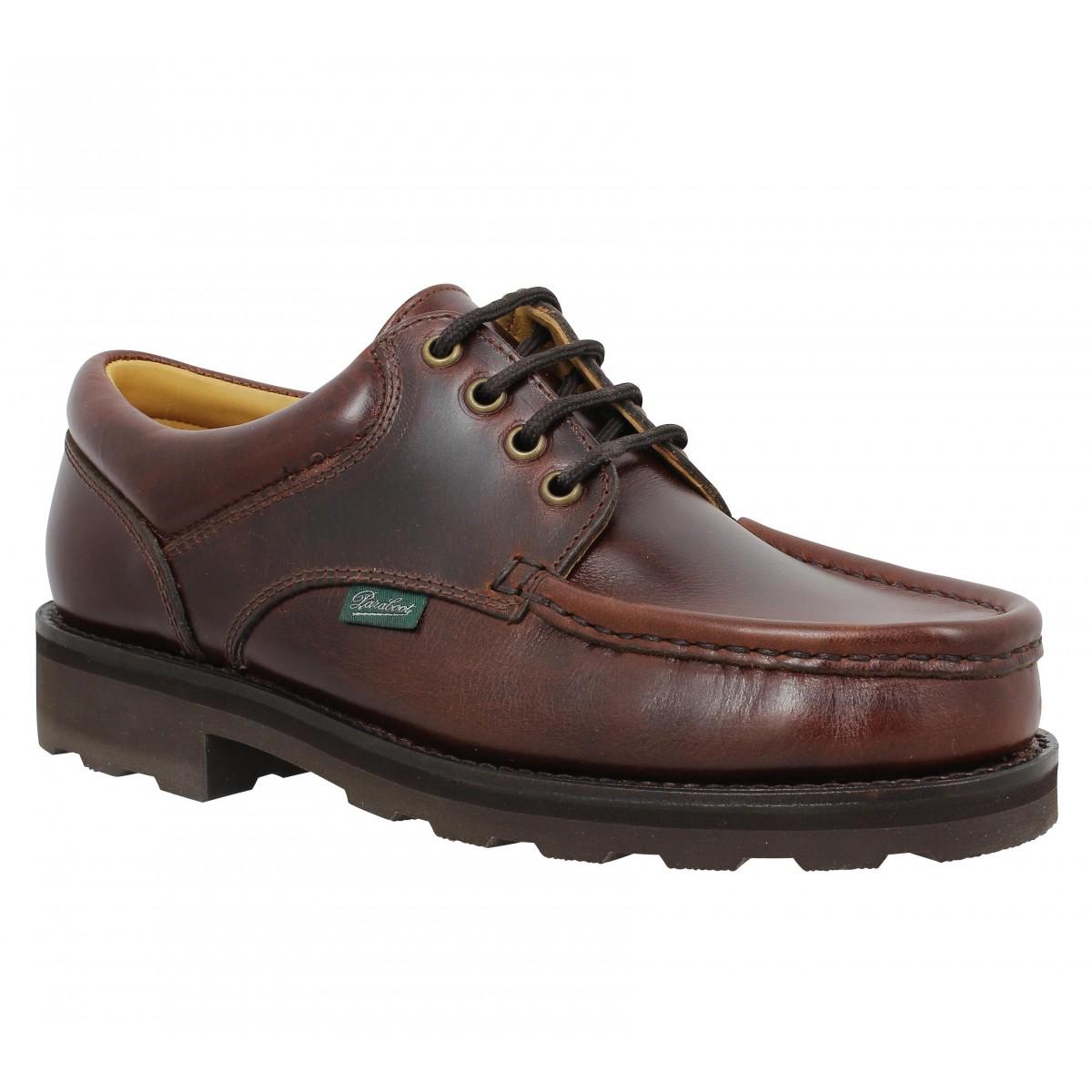Chaussures à lacets PARABOOT Thiers Homme Chocolat