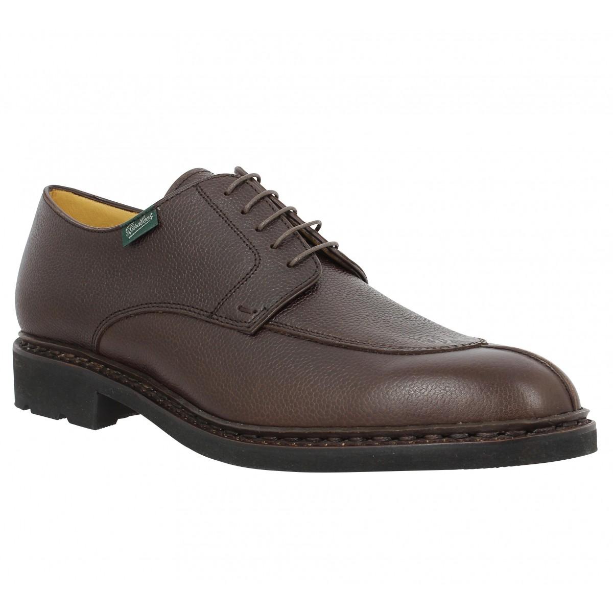 Chaussures à lacets PARABOOT Tournier cuir Marron