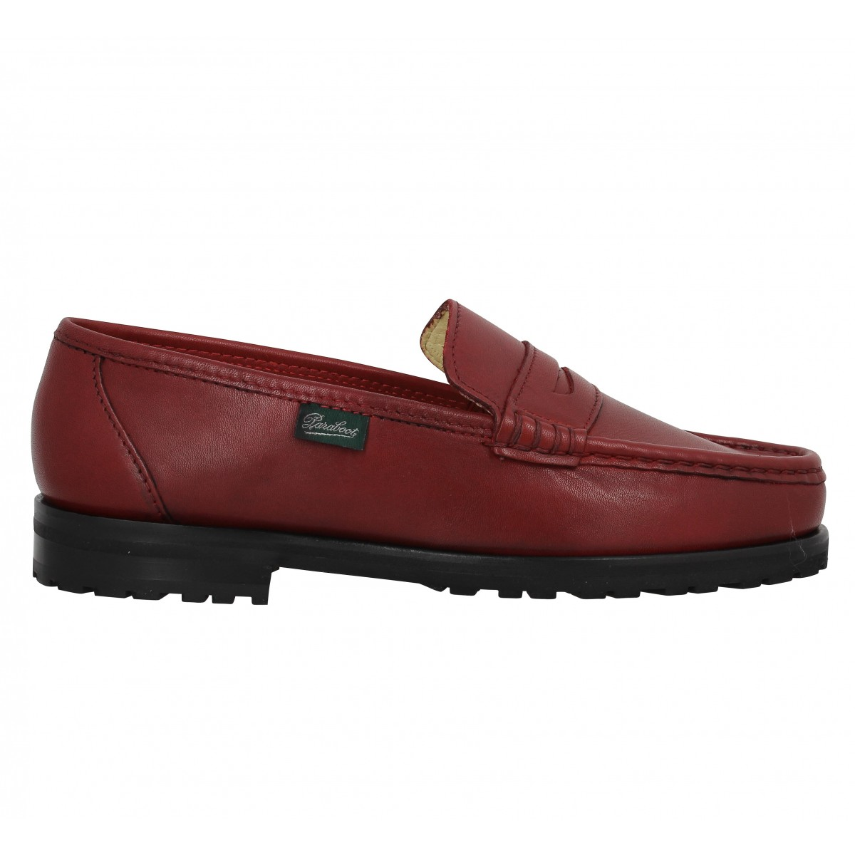 paraboot vignon cuir rouge femme fanny chaussures. Black Bedroom Furniture Sets. Home Design Ideas