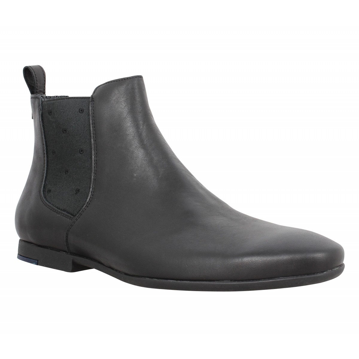 Bottines PAUL & JOE Party cuir Homme Noir