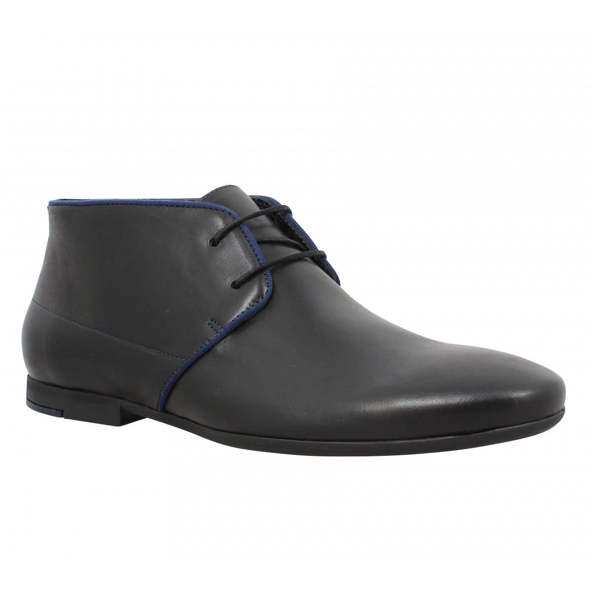 Bottines PAUL & JOE Prayer cuir Homme Noir